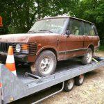 Restauration Range Rover complète .! Notre petit dernier..